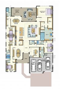 Floorplan for Aspen Lux