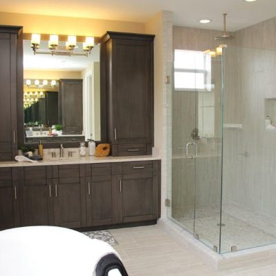 Bathroom Vanity/Shower