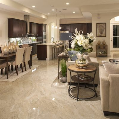 Living/Dining Room/Kitchen