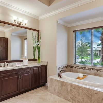Staged Master Bath- Lot 8