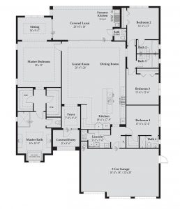 Floorplan for Ranchera