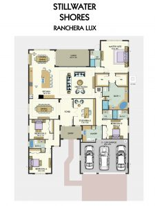 Floorplan for Ranchera Lux
