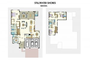 Floorplan for Sedona
