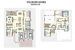 Floorplan for Sedona Lux