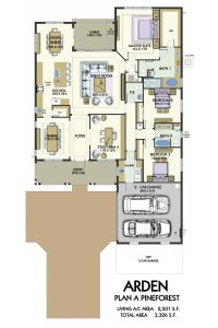 Floorplan for Pine Forest