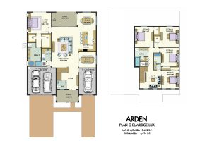 Floorplan for Elmridge Lux