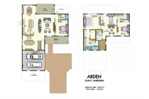 Floorplan for Gardenia