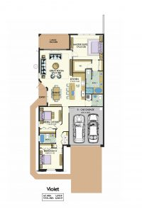 Floorplan for Violet