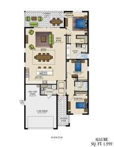 Floorplan for Allure